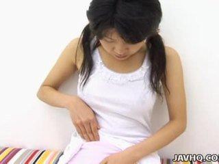 Haruka aida fierbinte asiatic adolescenta solo