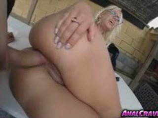 Awesome Babe Blondie Fesser Riding A Huge Meaty Cock