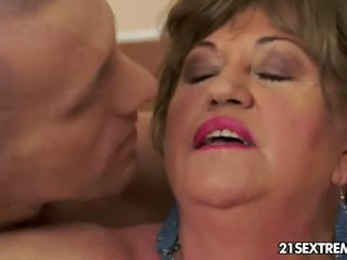hardcore sex, granny, blowjob