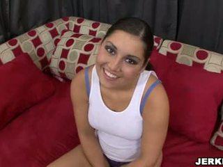 মধুর sexually excited emma cummings দেখাচ্ছে বন্ধ তার sporty curves