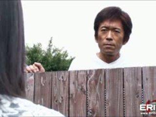 일본의, 큰 가슴, 입