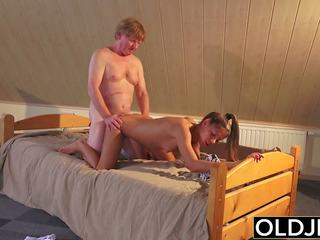 Old and young porno rumaja fucked by old man in burungpun and