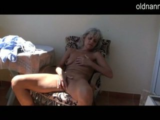 Cute Senior Mature Touching Surrounding Toy