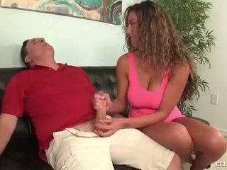 Clubtug-horny paauglys jerks nuo jos dėdė