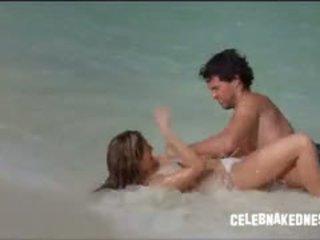 brunete, big boobs, pludmale