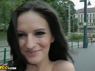 brunete, publisks sekss, newbie