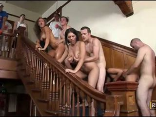 Group sex with sexy gals