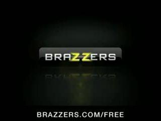 double penetration, big boobs, brazzers