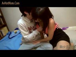 orale seks, japanse, tieners