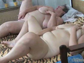 granny, fat, mature
