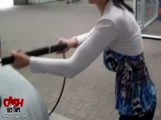Amatőr feleség exgirlfriend forró utcán fasz