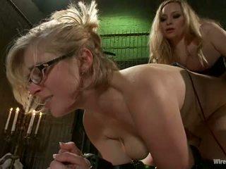 glasses, lezdom