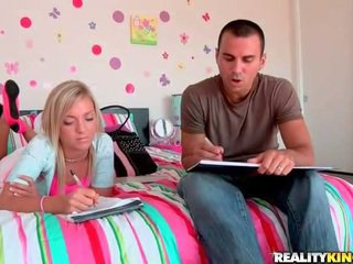 Young cock a holic Ally Kay banging hard