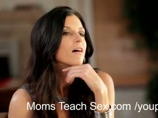 you hot mom check, ideal threesome ideal, Iň beti mom
