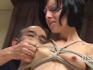Cmnf subtitled 日本語 nose ボンデージ、支配、サディズム、マゾヒズム とともに elise graves