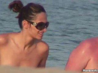 Strand voyeur naakt females spycam hd video-