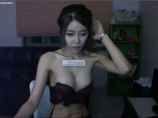 cámara web, flaco, coreano