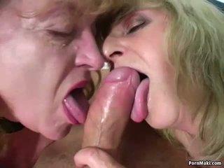 Two бабичка един чеп: безплатно реален бабичка порно порно видео ae