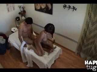 barna, olaj, masszázs szoba