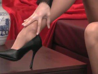 足フェチ, 運指, 長い脚