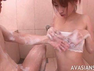 Schüchtern amateur asiatisch loves ficken im die bath