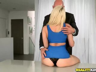 Big ass Annika Albrite bouncing on cock