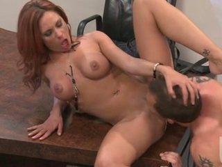 hard fuck, red head, doggy style