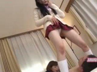 Frumos seductive corean fata futand