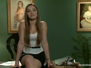 Superb Dani Daniels Has Constrained Up...