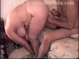 Fat aunty big boobs hard fuck
