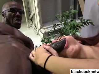 Zwart monster lul violates blank sluts bips video-