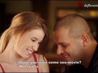 pirmą kartą, porno video, barely legal cuties