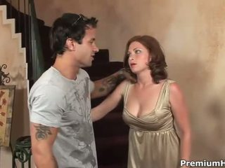 Sex s veľký sýkorka hottie