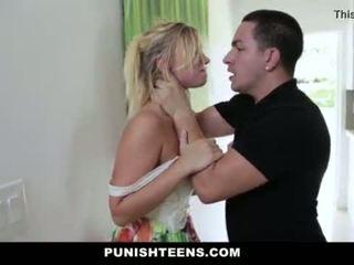 Punishteens - brutālie punishment par daddys meitene <span class=duration>- 10 min</span>