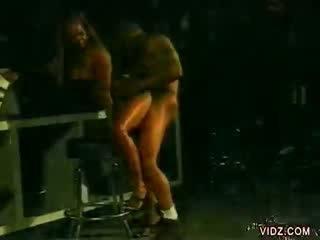 Ebony guy naar ebony hershey quick hook omhoog