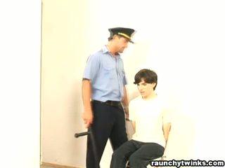 Frekk b-y arrested og knullet