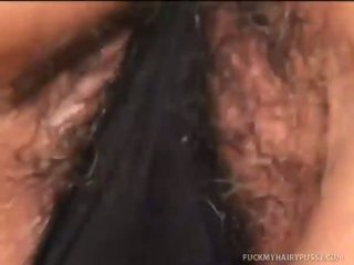 Sages Hirsute Pussy Gets Covered in Cum