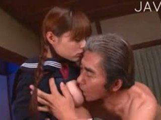 日本, 老+年輕, 制服