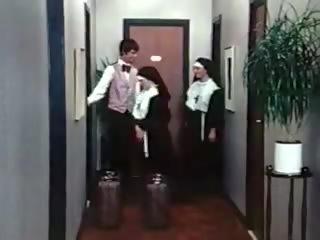 Nymfomaani nuns klassinen 191970s tanskalainen, vapaa porno 05