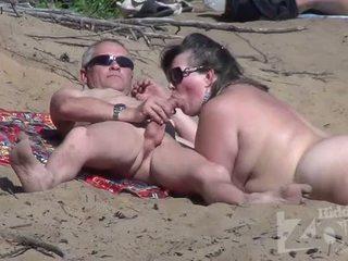 zīst, voyeur, pludmale