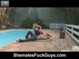 Alessandra sena uzaylı screwing dude üzerinde video