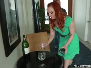Mini Knocker Scarlet Head Dani Jensen Cheats Onto Bf Nearby His Nice Phallus Buddy