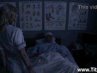 Blonde Doctor Sucks Patients Dick - Titzz.com