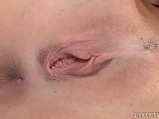brunette, orgasm