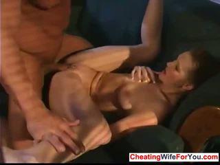 Horny wife likes to swap