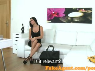 FakeAgent Sexy English babe sucks and fucks in casting interview - Porn Video 461