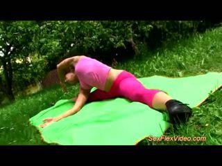 gymnast, kamasutra, contortion