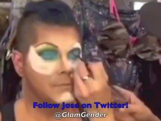 makeup, crossdresser, apakšveļa