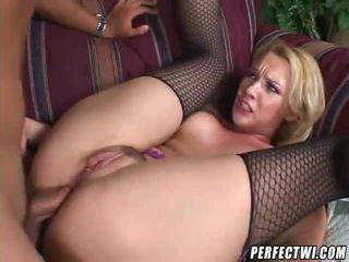 blondínky, assfucking, análny sex