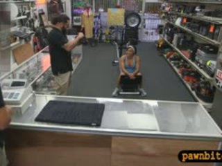 Masculine Babe Pounded By Pervert Pawn Man In The Backroom